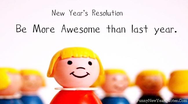 TrueFunny.com - New Year funny resolution 2014 wallpaper funny pics