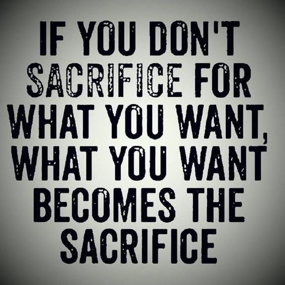 Image result for the true side of sacrifice""