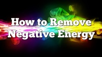 how-to-remove-negative-energy