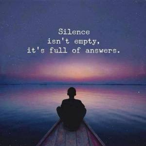 silence is not empty Gemma Comb