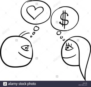 cartoon-vector-of-difference-between-man-and-woman-thinking-about-JGD1R8