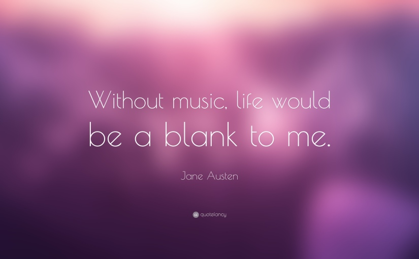 """'Without Music Life Would Be AMistake"""""""