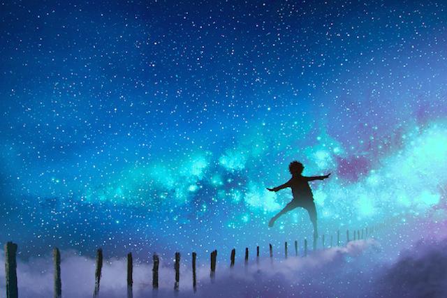 Boy-in-space
