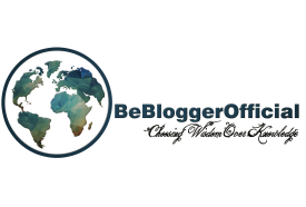 Be Blogger Blue