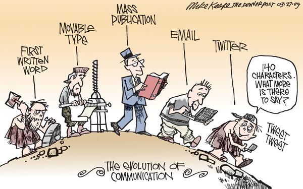 Evolution of Communication