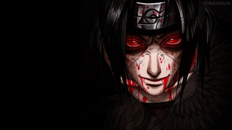 Akatsuki-Itachi-Hd-Wallpaper-High-Quality-For-Mobile-Phones-Itachis-Moment-Of-Death-Uchiha-And